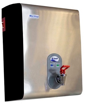 E-Boil Wall-Mounted Water Boiler, Stainless Steel 5L